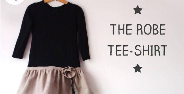 La robe tee-shirt d'Automne!