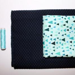 Coudre deux tissus de couleur différente