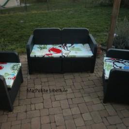 Housse pour salon de jardin