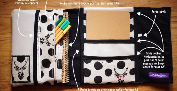 range documents pour ton sac main pop couture. Black Bedroom Furniture Sets. Home Design Ideas