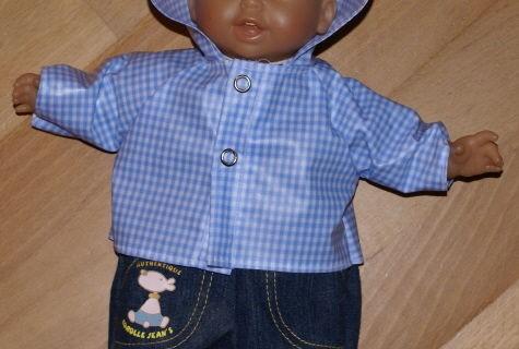 Un ciré pour poupée