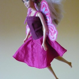 Robe de Barbie-fée