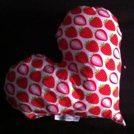 Cœur de fraises – DIY rapide