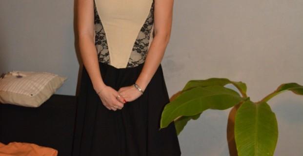 Robe corset avec dentelle en 15 étapes