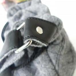 Réaliser des bandoulières sac laine et cuir