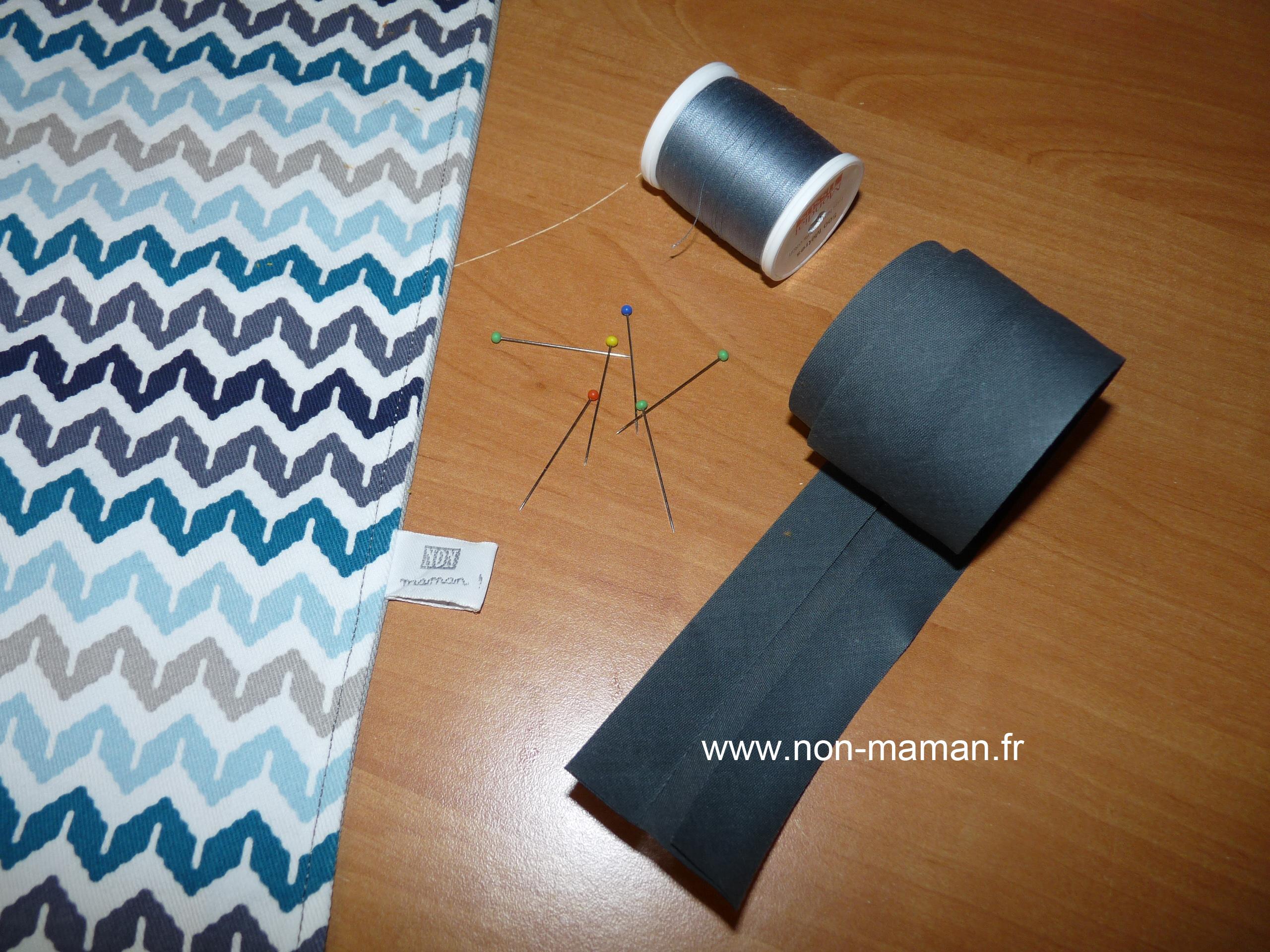 poser un biais facilement pop couture. Black Bedroom Furniture Sets. Home Design Ideas