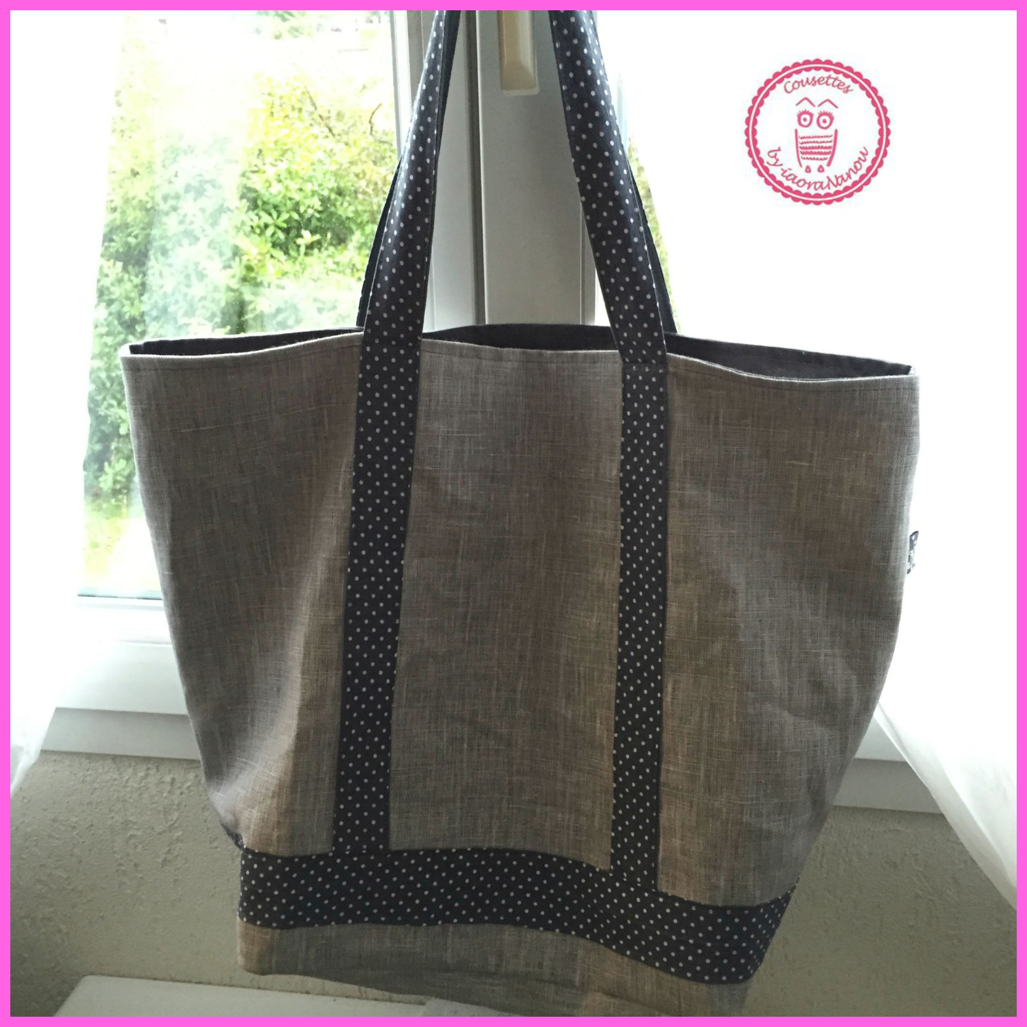 Sac Cabas Style Vb Pop Couture