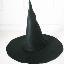 Chapeau de sorcière feutrine