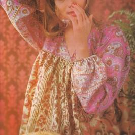 Tunique avec des foulards