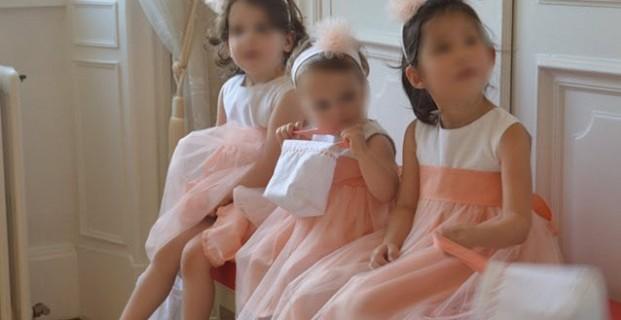 Robe pour petite fille d'honneur