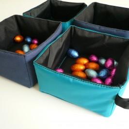 POUF box tissu nylon bag