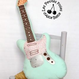 Coussin guitare électrique