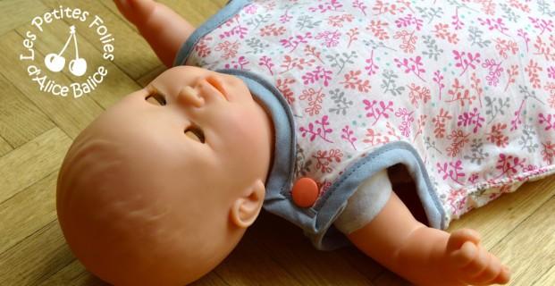 Gigoteuse pour poupées 30 et 36 cm