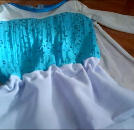 Robe de reine des neiges