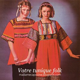 Tunique Folk