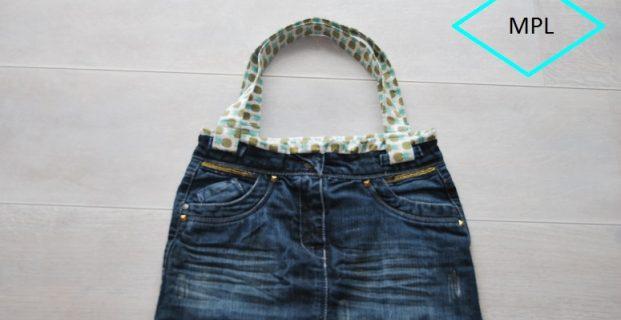 Recycler une jupe en sac