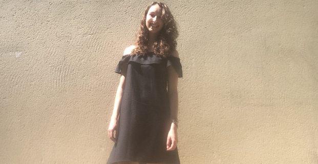Coudre une robe d'été bustier à encolure Bardot