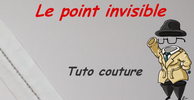 Coudre des points invisibles