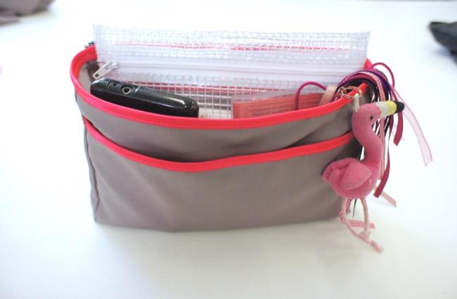 Organiseur de sac pop couture - Tuto organisateur de sac ...