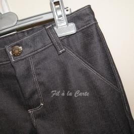 Réalisation d'une braguette sur pantalon/jean
