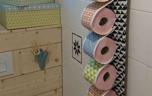 d rouleur de papier toilette original pop couture. Black Bedroom Furniture Sets. Home Design Ideas