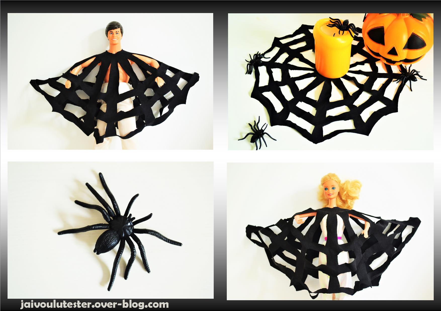 toile d 39 araign e halloween d guisement ou d co pop couture. Black Bedroom Furniture Sets. Home Design Ideas