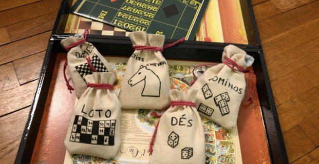 Pochettes de rangement en tissu