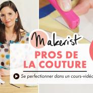 [Jeu-concours] 10 cours de couture en vidéo à gagner !