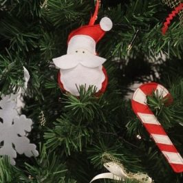Figurines de Noël à suspendre