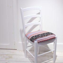 Couvrir l'assise d'une chaise