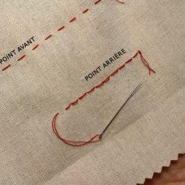 Points basiques couture main