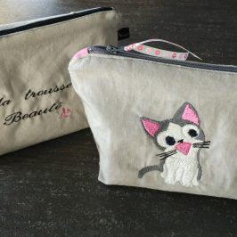 trousse/pochette triangle