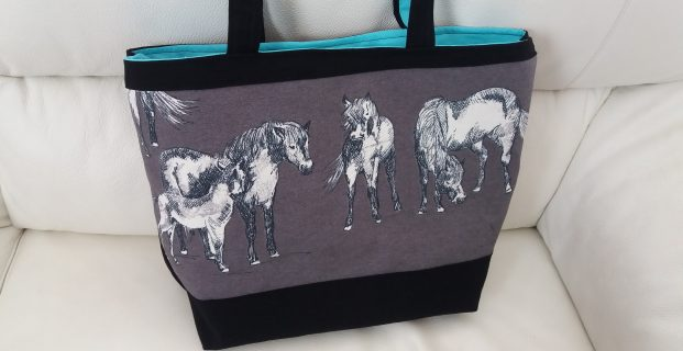 Sac passion chevaux