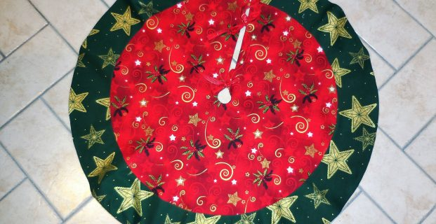 Tapis de sapin de Noël