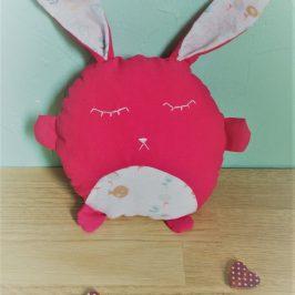 Doudou lapin câlin