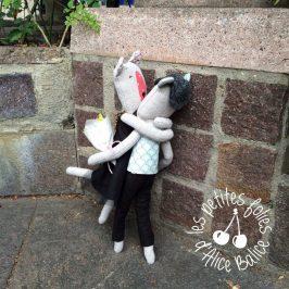 Articuler les poupées de chiffon