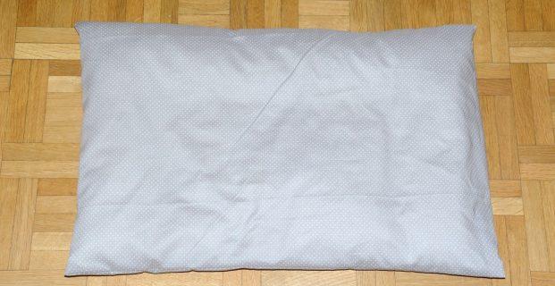 Taie d'oreiller – Housse de coussin (niveau débutant)