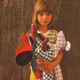 Animaux et poupées en étoffe – Manu presse