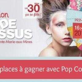 [Jeu-concours] 20 places à gagner pour le salon Mode et Tissus
