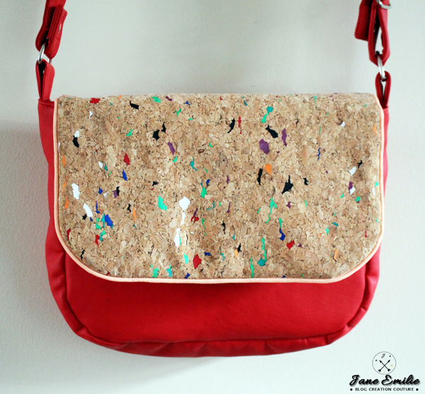 La besace pollock pop couture - Tuto sac bandouliere ...