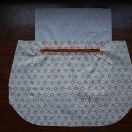 Poche de sac zippée