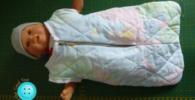 Turbulette pour poupée