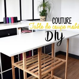 Table de coupe textile