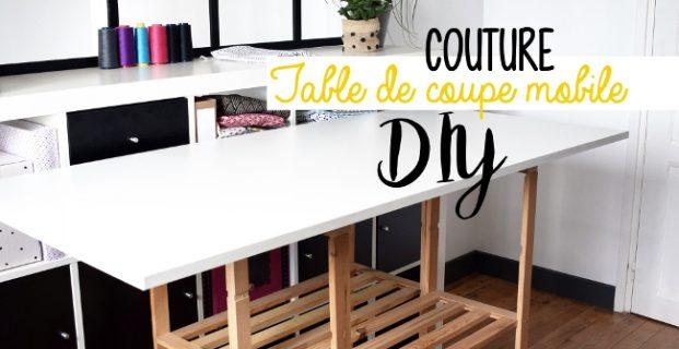 Table de coupe textile