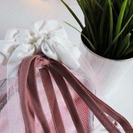 Panière de lavage pour lingette lavable ou lingerie