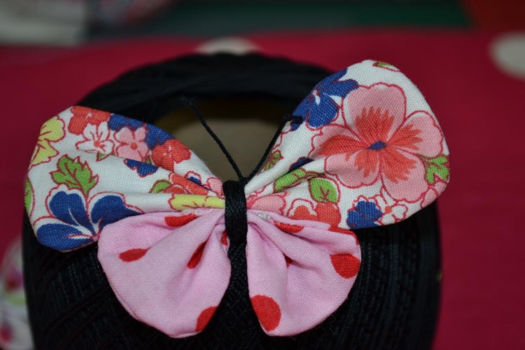 R aliser des papillons broches magnets pop couture - Idees loisirs creatifs gratuit ...