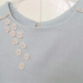 Robe simple en Lin