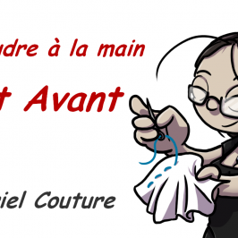 Coudre à la main – point avant