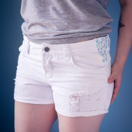 Agrandir (et customiser) un short ou pantalon