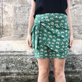Comment coudre une jupe portefeuille ?